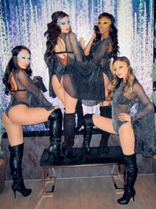 masquerade dancers for new years even party at the bellagio las vegas 2019