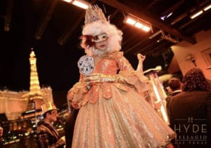 Legend Entertainment Stilt Walkers for Masquerade NYE Party 2019