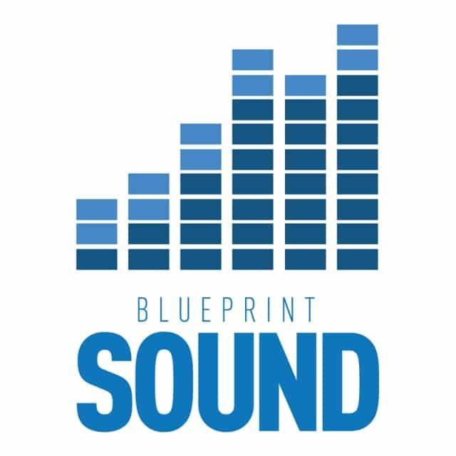 blueprint sound las vegas logo white