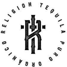 religion tequila logo white